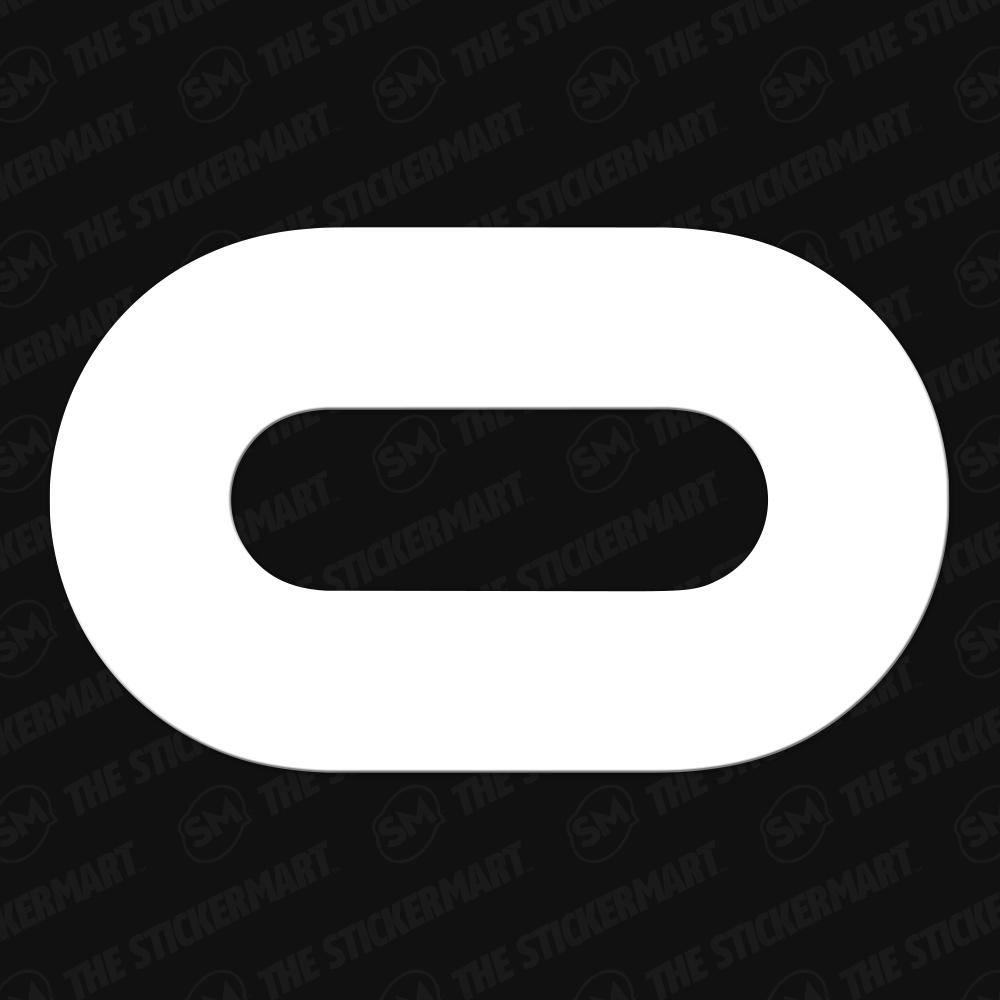 Oculus Logo Vinyl Decal Vinyl Decals Vinyl Decals