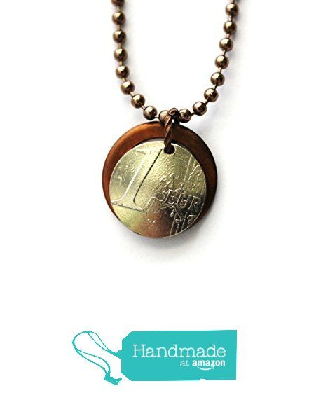Layered Necklace Domed Coin Spain and Repurposed Copper Washer http://www.amazon.com/dp/B016G0EEGI/ref=hnd_sw_r_pi_dp_-JCgwb09R3DRB #handmadeatamazon