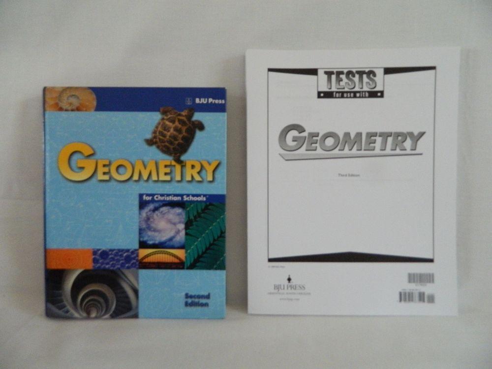 Bob jones geometry t. E. Second harvest curriculum.