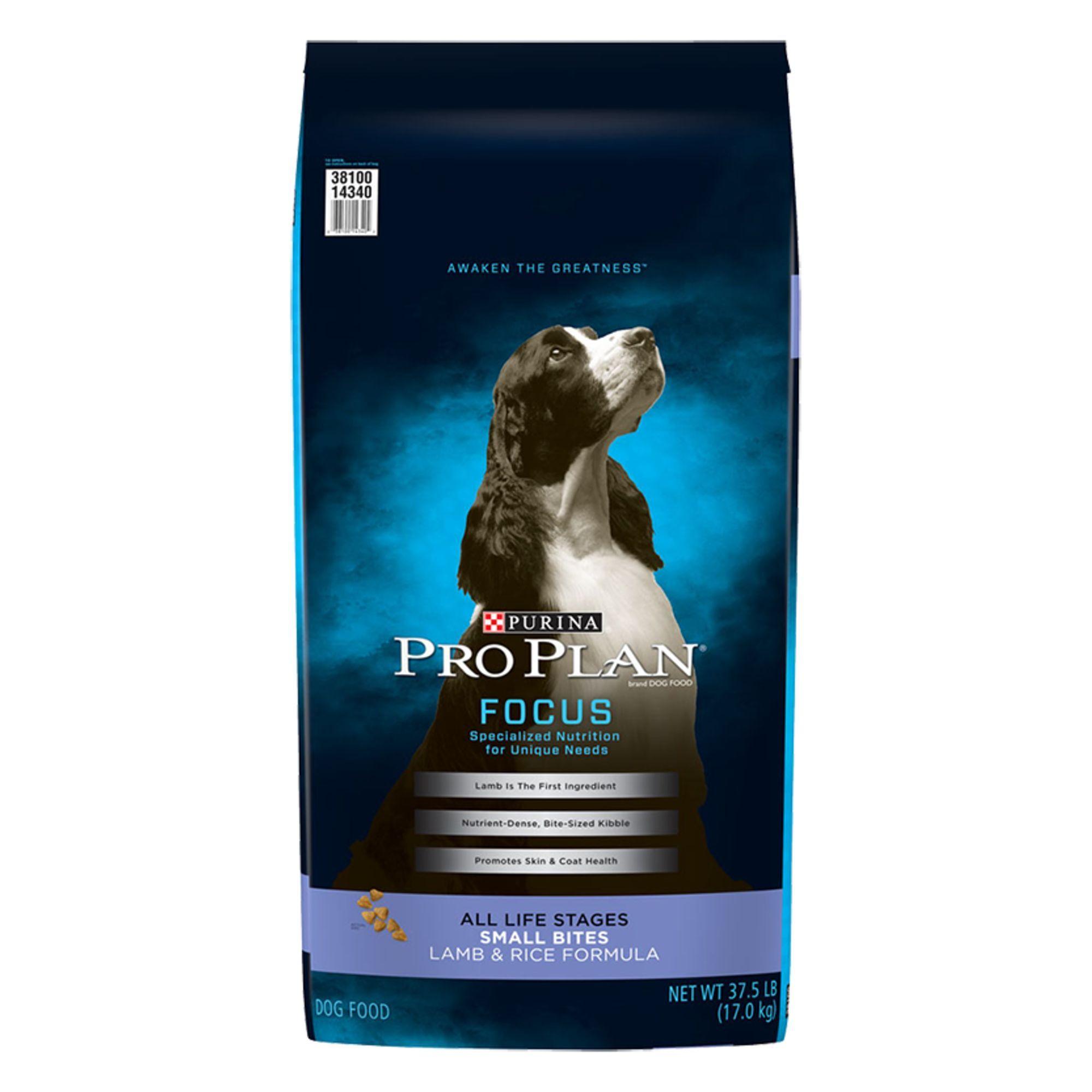 Purina Pro Plan Small Bites Dog Food Size 37 5 Lb Barley Beet
