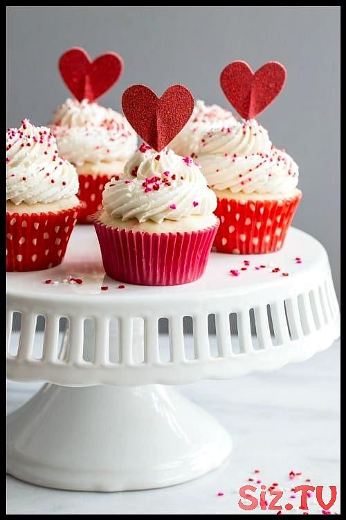 Delicious homemade funfetti cupcakes are so easy to make and perfect for just ab   Delicious homemade funfetti cupcakes are so easy to make and perfect for just about any occasion  These cuties are dressed up for Valentine   s Day but they   d be just as cute with green sprinkles for St  Patrick   s Day  cupcakes desserts Delicious homemade funfetti cupcakes are so easy to make and perfect for just ab   Delic