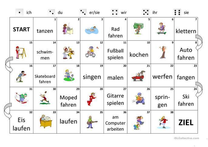 konjugation der verben lingaz deutsch lernen spiele deutsch bungen und deutsch lernen. Black Bedroom Furniture Sets. Home Design Ideas
