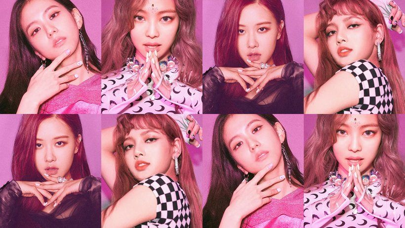 BLACKPINK Square Up Album Jisoo Jennie Rose Lisa 4K 15514