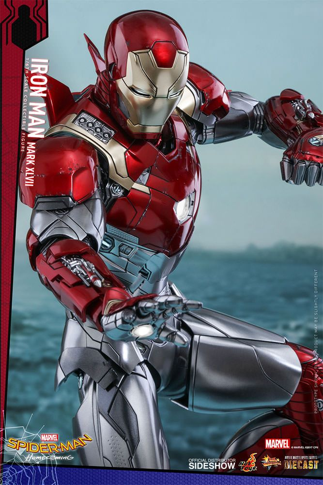 Marvel Iron Man Mark Xlvii Sixth Scale Figure By Hot Toys