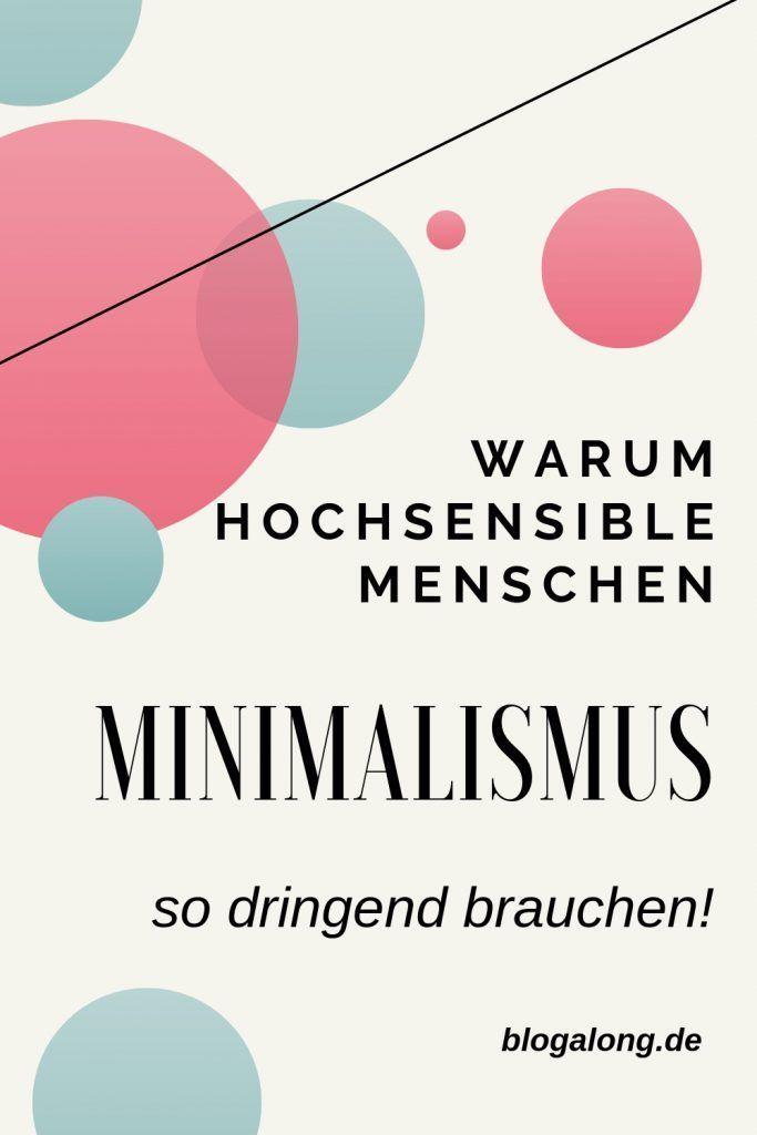Minimalismus für Hochsensible