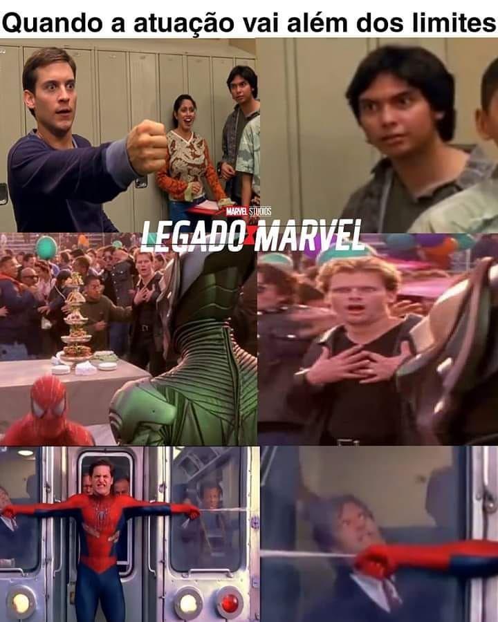 """@distopianerd on Instagram: """"Tem muito ganhador de Oscar fazendo papel de figurante por aí 😂 Via: @legadodamarvel  #homemaranha #marvel #nerd #geek"""""""