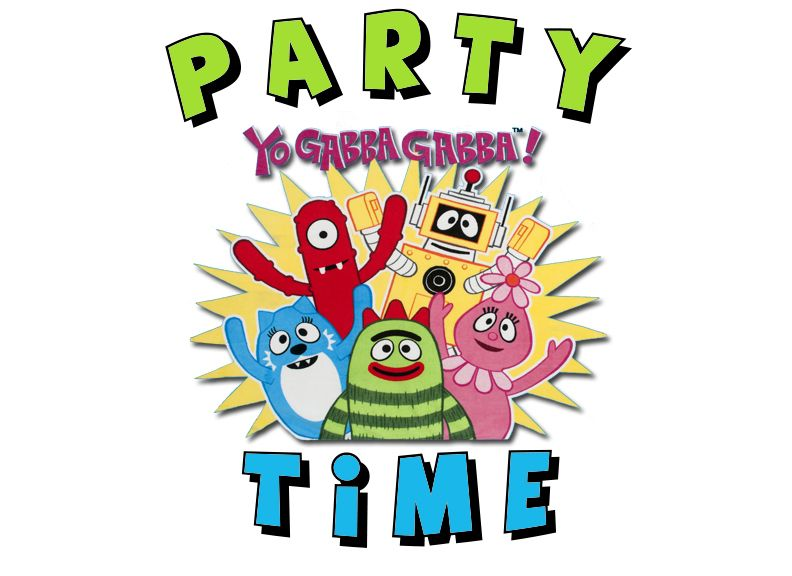 yo gabba gabba! | yo gabba gabba, gabba gabba and birthdays, Birthday invitations