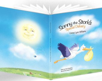 Sonny the Stork's Special Delivery Personalized Book