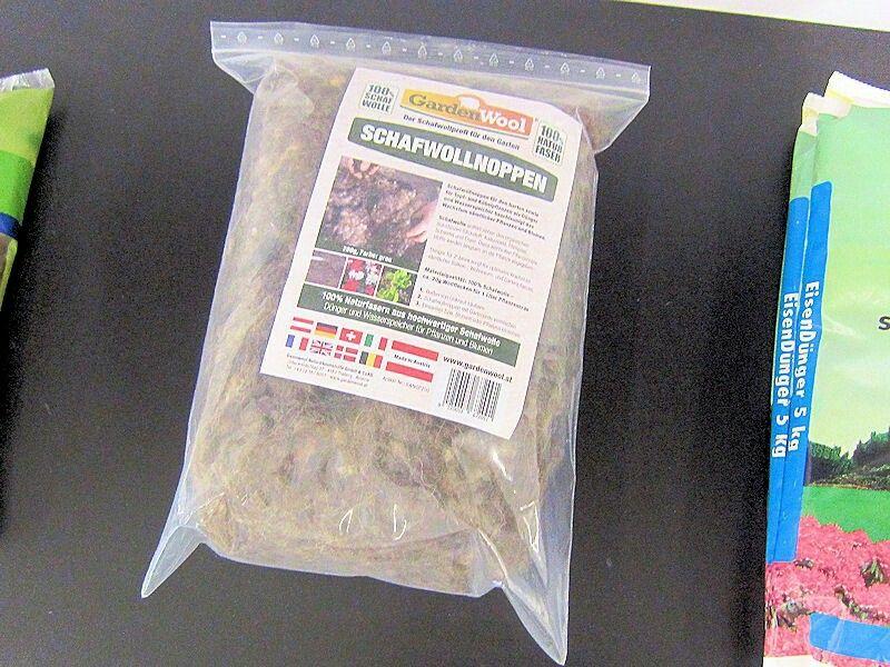 Schaafwolle , Organische Dünger http://www.ahabc.de/organische-duenger/