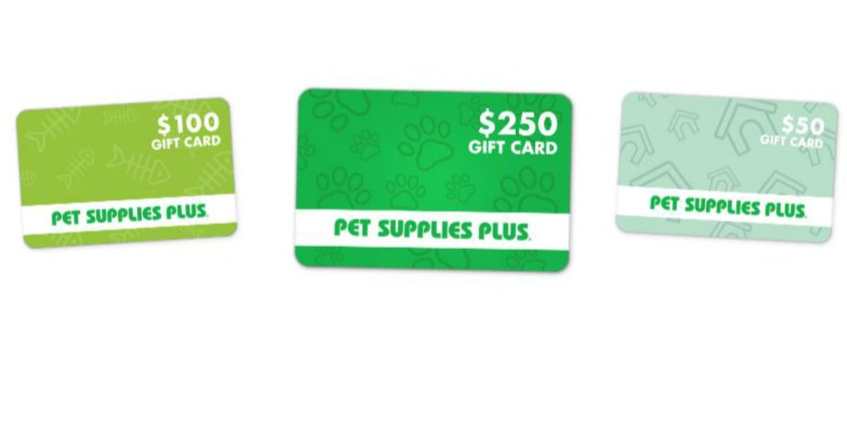 Pet Supply Plus Gift Cards Are Up For Grabs Pet Supplies Plus