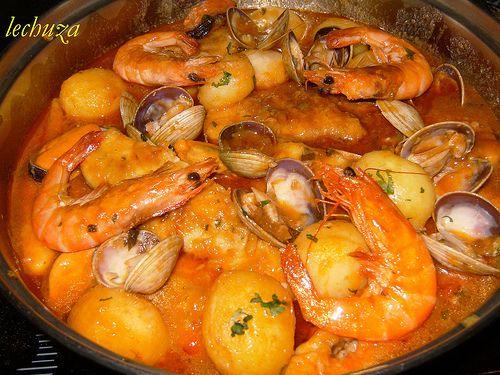 Casta eta marinera cazuela recetas pinterest cazuela for Cocinar zarzuela