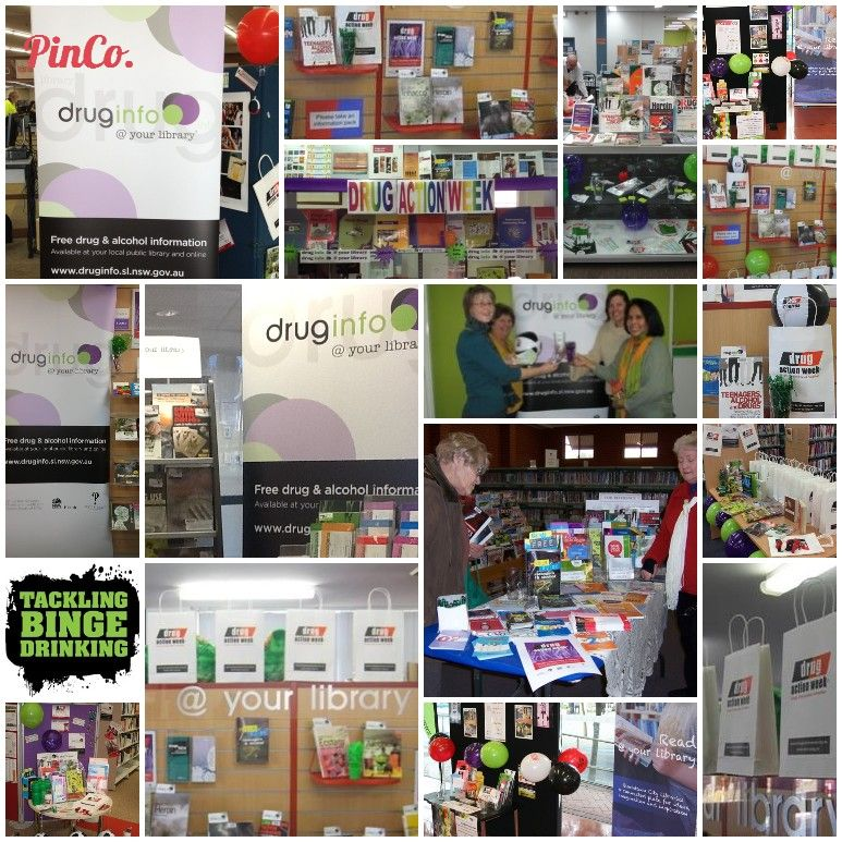 NSW public libraries celebrate Drug Action Week 2013