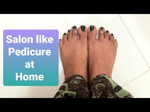 Salon like Glow Pedicure Easily at home 🏡 . #pedicure #salonlikeglow #athome #brownsugarhoneyscrub - YouTube
