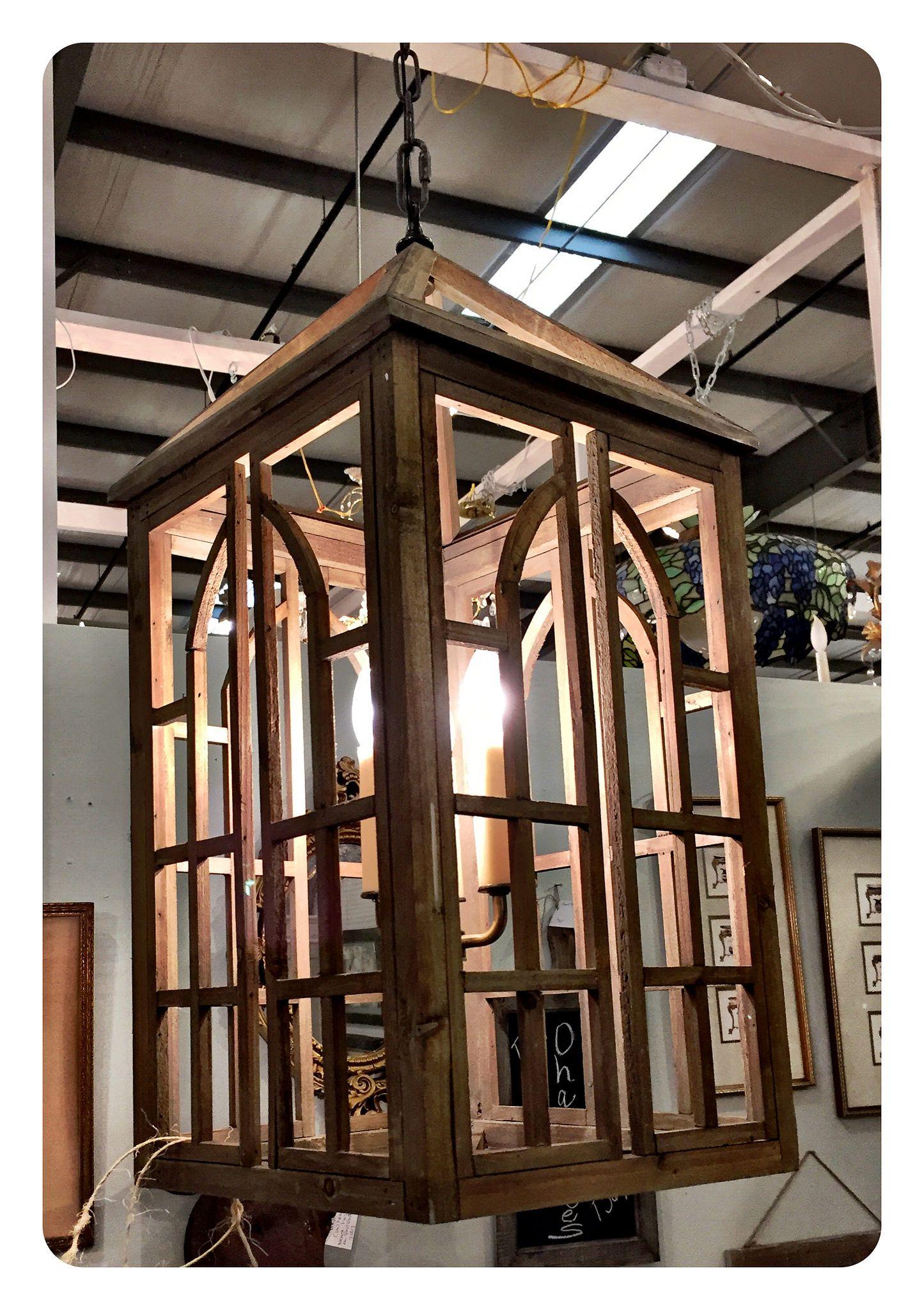Wooden Lantern Chandelier wooden palladian style details 3