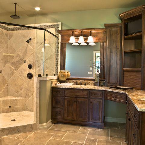 24+ Knotty alder bathroom wall cabinets ideas