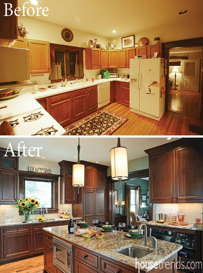 Home remodeling ideas lead to a functional flip Kitchen design