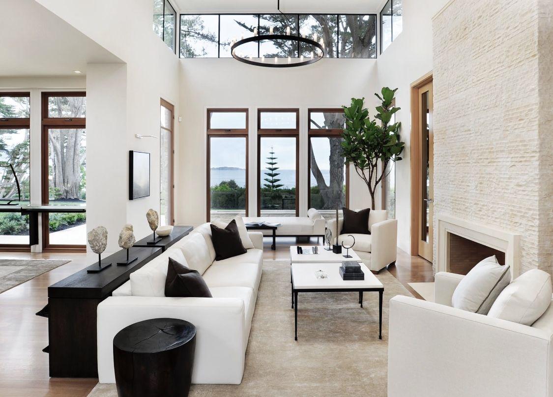 Elegant luxury living room decor