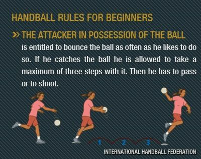handball rules for kids