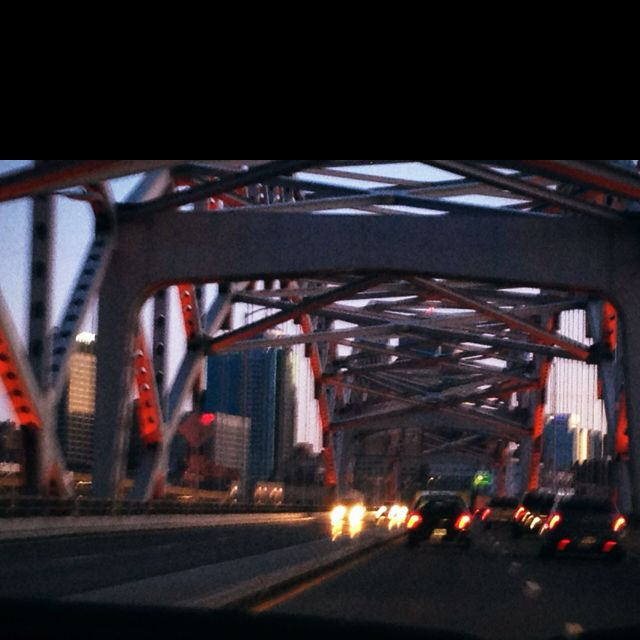 Bridge over Missouri river
