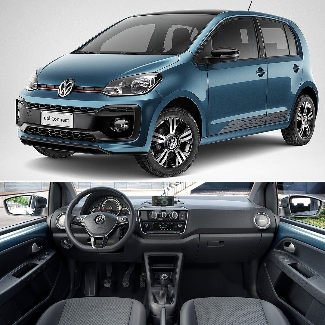 Volkswagen Up 2018 Versao Reestilizada Chega Ao Brasil Marca