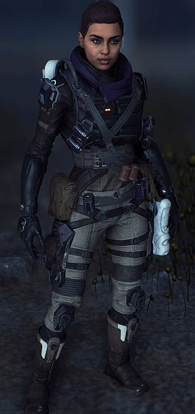Peebees Outfit for Human Skin at Mass Effect Andromeda