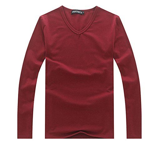 MEXI Mens T-Shirts Casual Long Sleeve Tee Base Shirt Slim Fit V-Neck Undershirt Mexi http://www.amazon.com/dp/B015SS2LN2/ref=cm_sw_r_pi_dp_N9Dcwb0W5CZ98
