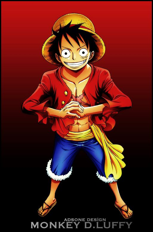 One Piece Monkey D Luffy 3 By Adonis90 On Deviantart One