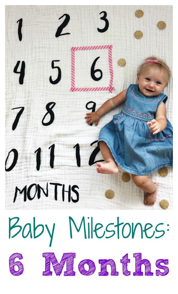 six month milestones
