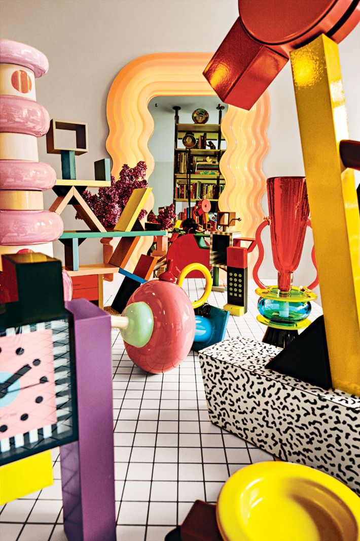 NY Mag The Memphis Design Movement Is Having A Moment 80s