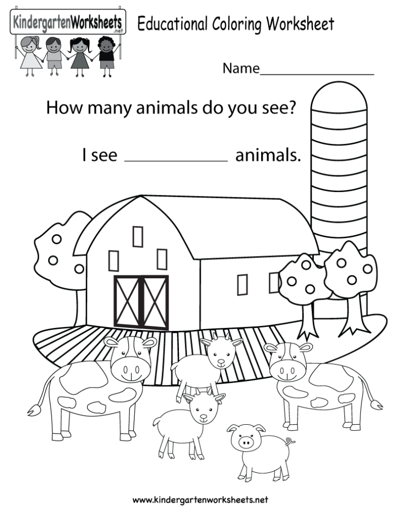 Coloring Pages: Worksheets Educational Worksheets For Children ...