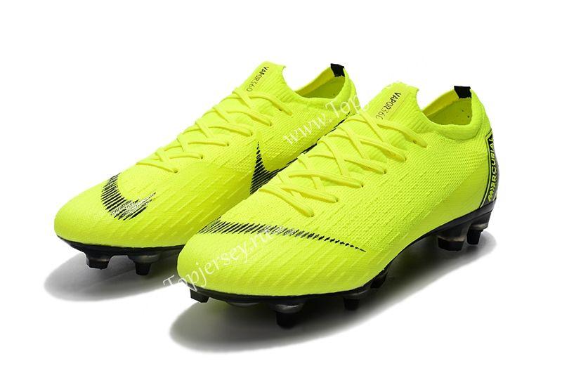 Assassin Fluorescent Yellow Mercurial Vapor Fury Vii Elite Sg Pro Ac Football Boots Mercurial Football Boots Football Boots Soccer Boots