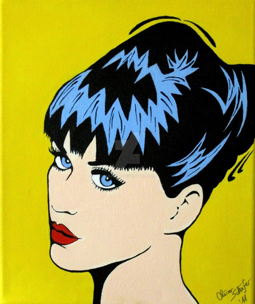 A new pop art! This time with Katy Perry! Painted witch acrylic!