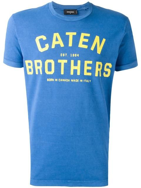DSQUARED2 'Caten Brothers' T-Shirt. #dsquared2 #cloth #t-shirt