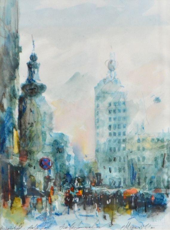 Calea Victoriei Mihail Gavril Eliteartgallery Galerie De Artă Art Graphic Art Painting
