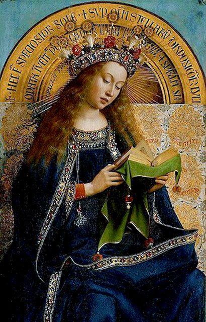 The Virgin Mary by Hubert & Jan van Eyck