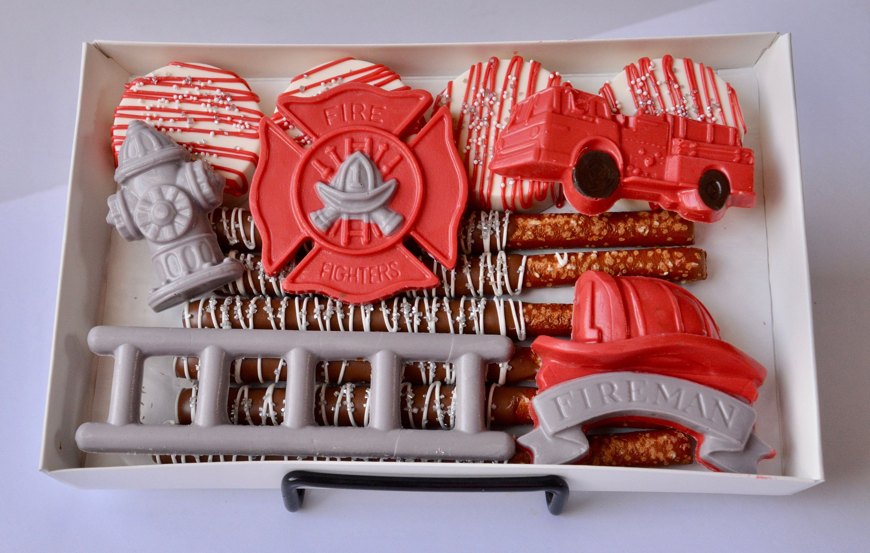 Firefighter chocolate firefighter gift firefighter wife