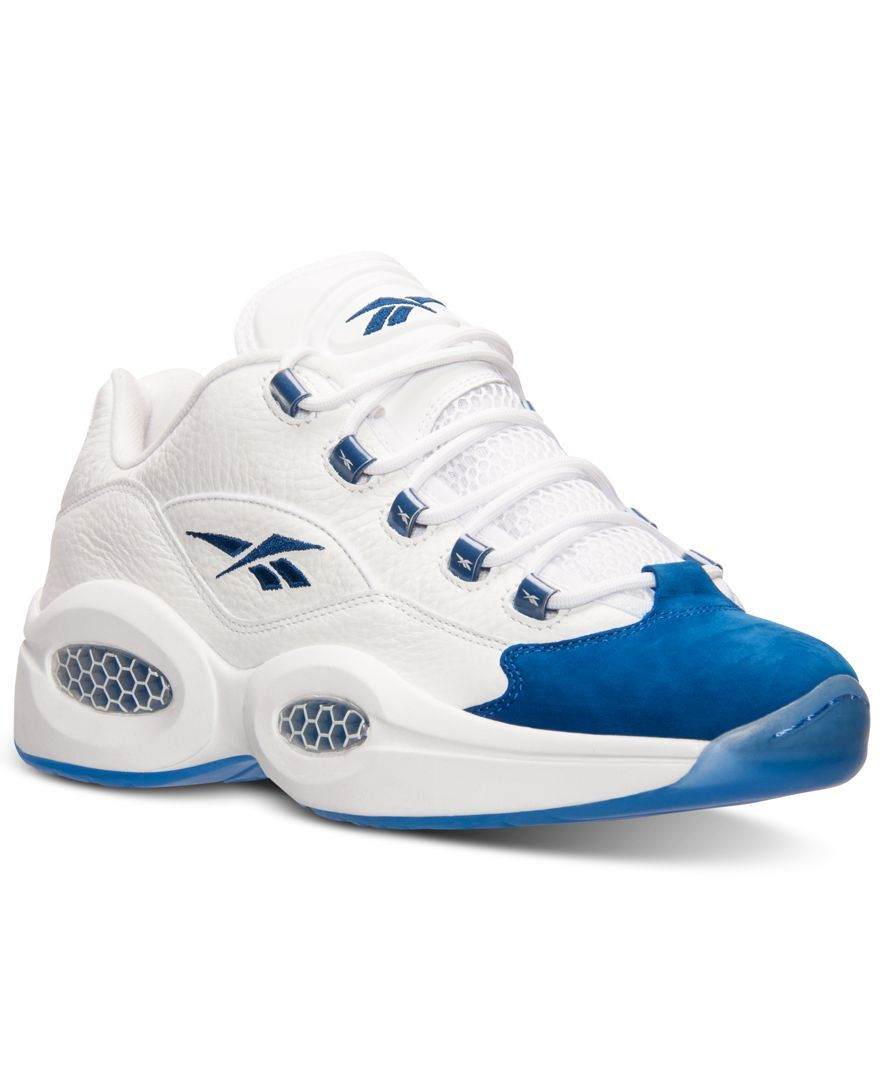 3bbb84fab6da Reebok Men s Question Low Basketball Sneakers from Finish Line ...