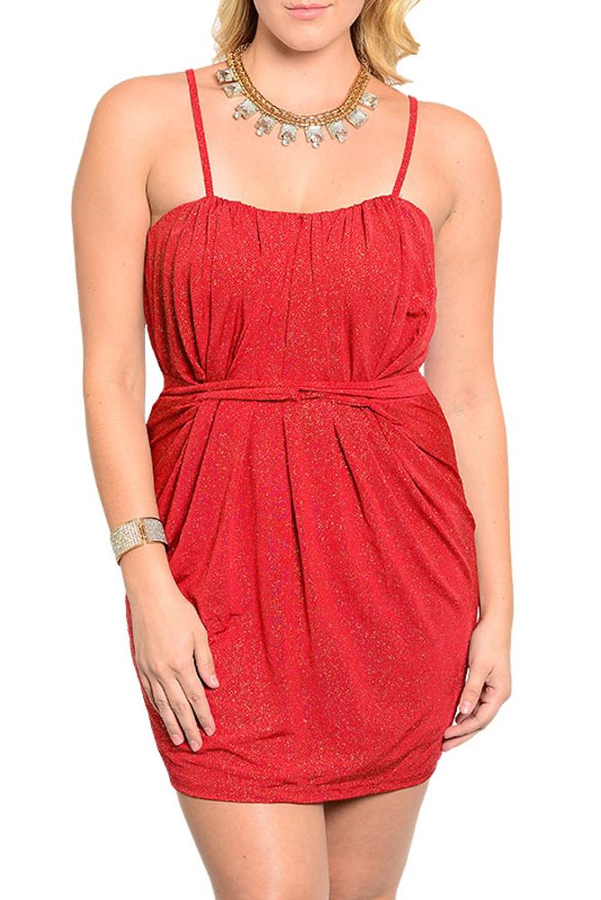 DHStyles Women's Red Gold Plus Size Sexy Sparkling Spaghetii Strap Cinched Fitted Dress #sexytops #clubclothes #sexydresses #fashionablesexydress #sexyshirts #sexyclothes #cocktaildresses #clubwear #cheapsexydresses #clubdresses #cheaptops #partytops #partydress #haltertops #cocktaildresses #partydresses #minidress #nightclubclothes #hotfashion #juniorsclothing #cocktaildress #glamclothing #sexytop #womensclothes #clubbingclothes #juniorsclothes #juniorclothes #trendyclothing #minidresses…
