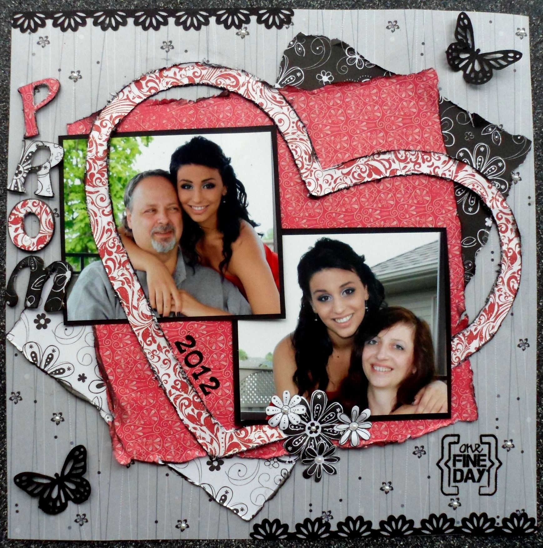 One Fine Day/Prom 2012 - Scrapbook.com | scrapbooking | Pinterest ...