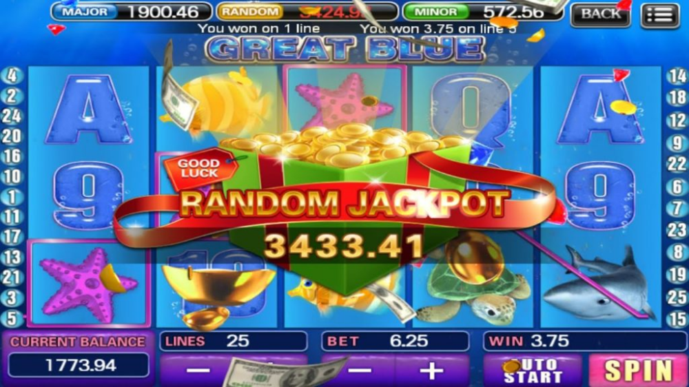 Great Blue Slot Game Free Trick For Android Mobile 2019 Slots