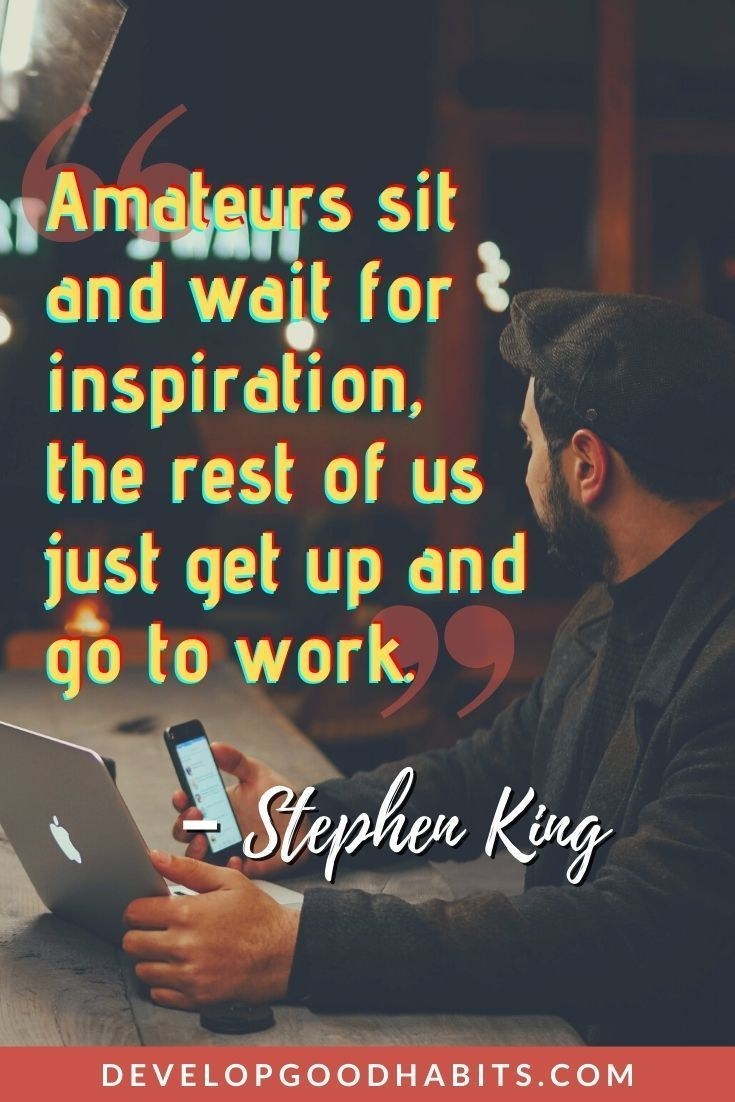 Quotes About Developing a Work Ethic
