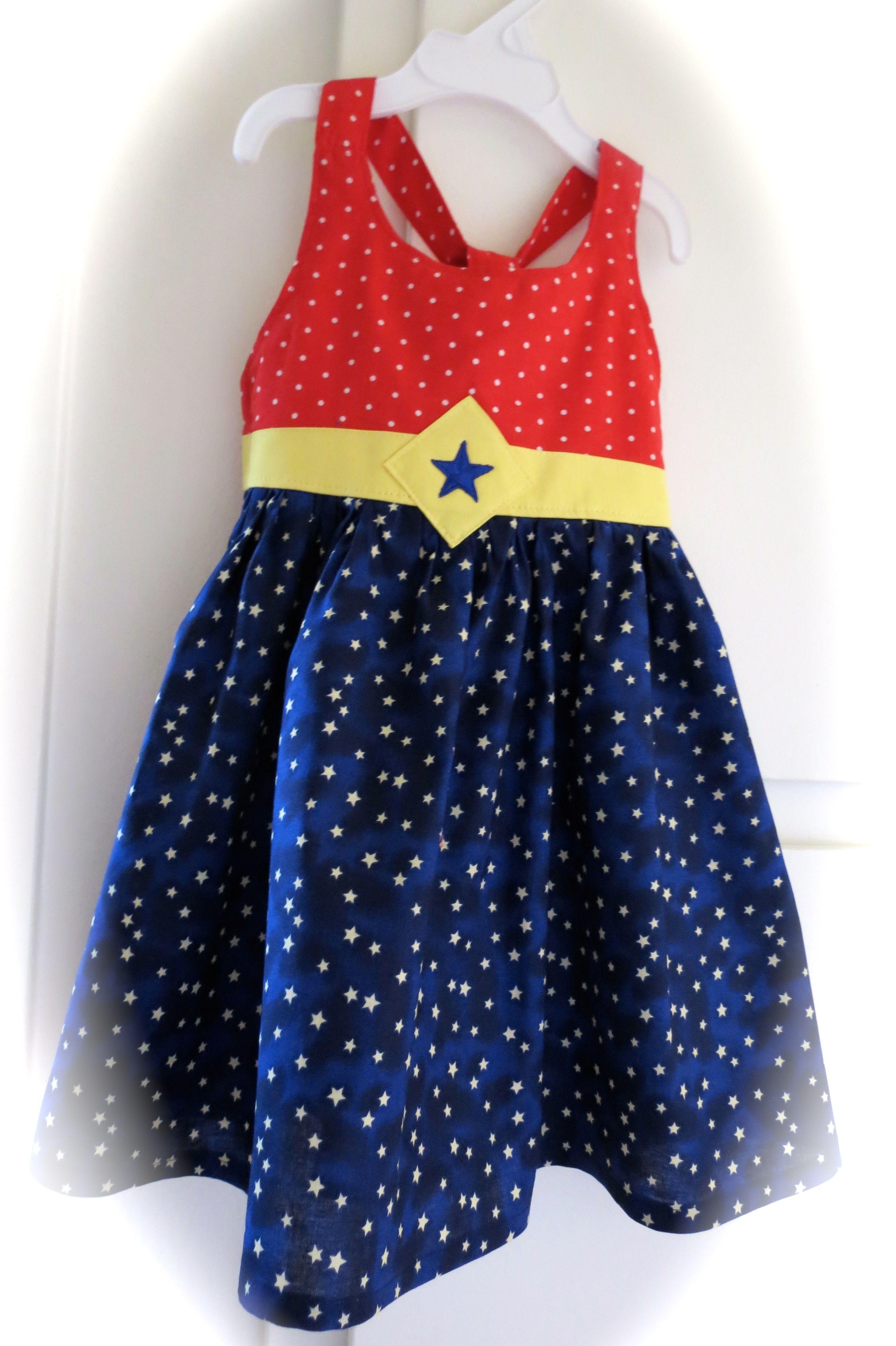 Wonder Woman Toddler Dress  Toddler  Kids Clothing -3170