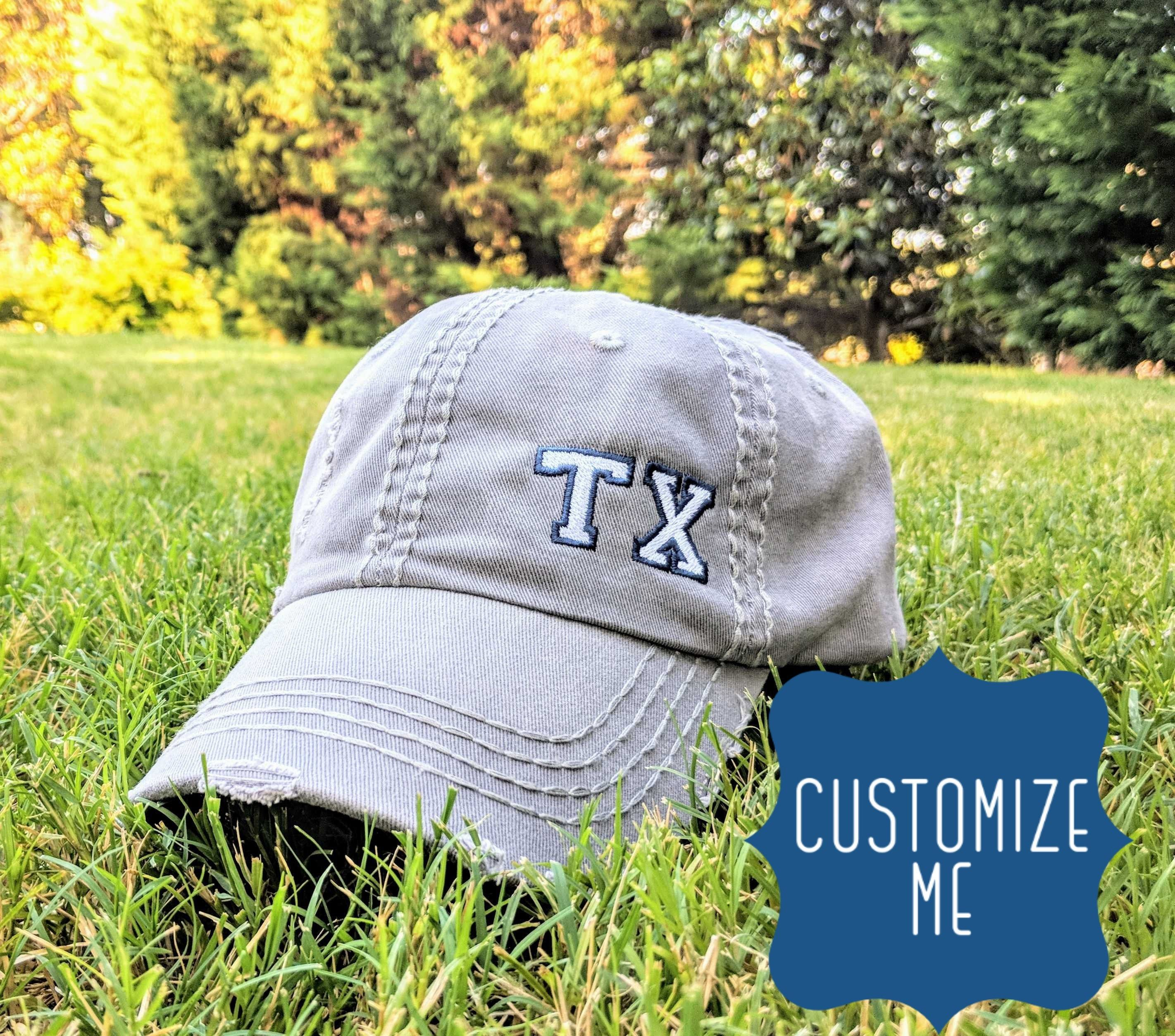 State or number, state abbreviation hat, abbreviation hat