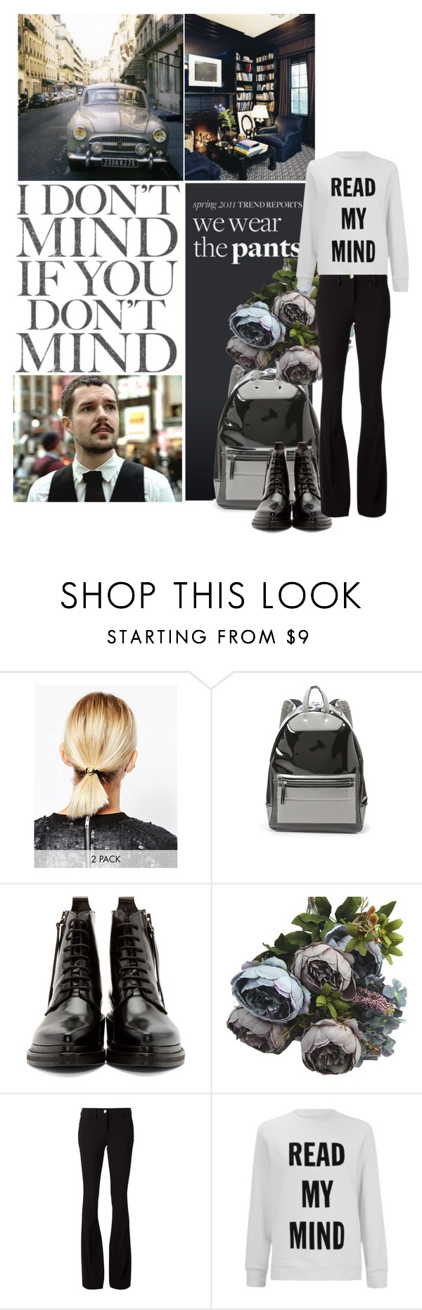 """Brandon Flowers"" by tasa92 ❤ liked on Polyvore featuring ASOS, Maison Margiela, Acne Studios, Philipp Plein, Wood Wood, thekillers, singer and brandonflowers"