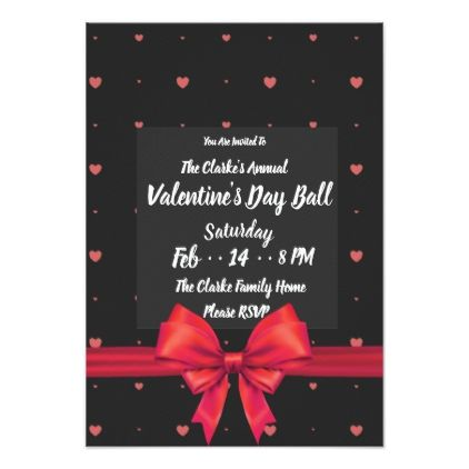 Classic Romance Valentines Day Invitations  Rsvp And Invitation Ideas