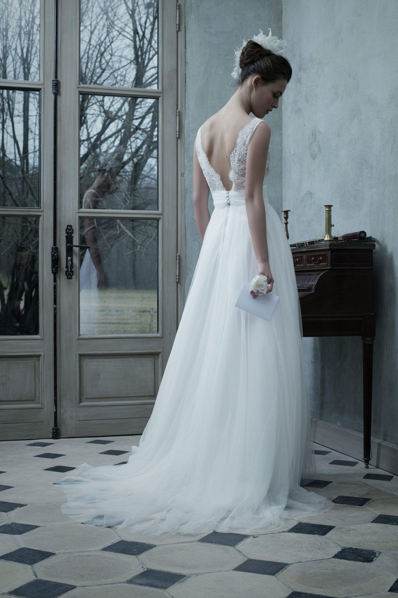 Robe Belen | Robe, Wedding and Wedding dress