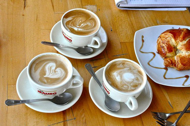 More coffee art in Israel by Dr Phil
