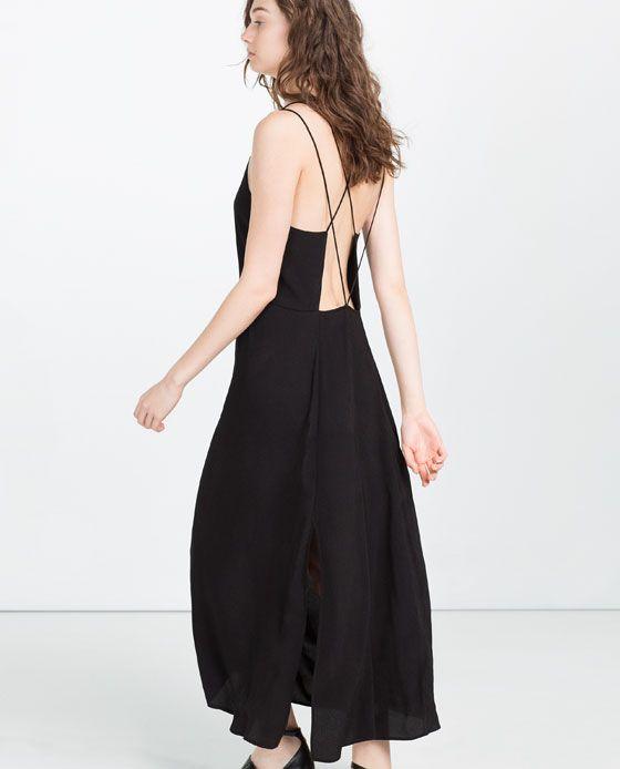 Image 3 of OPEN BACK DRESS from Zara