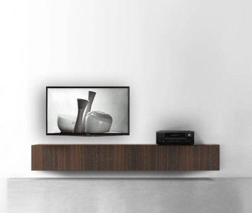 Hängende Lowboards | Lowboard, Wohnzimmer tv wand ideen