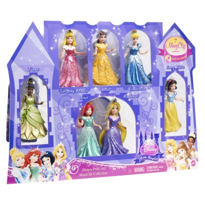 42c720f2b8ad Best gift ever for a 4-5 year old girl! Anything MagiClip Princess. My  daughter would flip for this 7 pack.